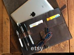 Chelsea iPad case, Tablet clutch, Rugged iPad pockets case, Tablet cover with pockets, iPad travel case, Customize your own, Made in NYC