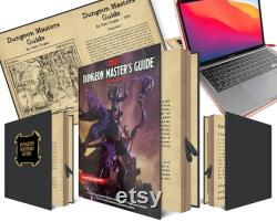 Dungeon Master's Guide Case Dungeons and Dragons 16 inch Case Laptop 15.4 inch Case 16 macbook pro keyboard cover laptop case macbook pro 16