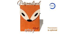 Fox Surface Pro Case, Fox Bag, Personalized Surface Go Sleeve, Surface Book Case, Handmade Surface Laptop Case, Gift For Her, Gift Idea
