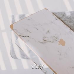 Gold Marble Case Accessories Bundle Personalized Marble Case White Marble Mac Air 13 Pro 13 15 16 13 Touchbar Retina