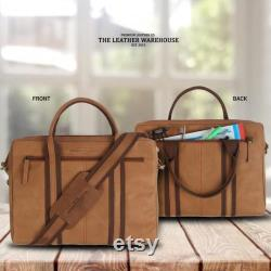 Handmade Genuine Leather Sleeve Bag for 13 inch laptops, for MacBook, HP, Lenovo, DELL, ASUS 12 Inch, 13 Inch, with multiple pockets.