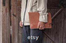 Laptop Sleeve, Leather and felt sleeve for 13 inch macbook pro, leather macbook sleeve