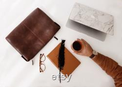 Leather MacBook Air Case Handmade Full Grain Leather Laptop Bag MacBook Pro Gift For Him Gift For Her Birthday Gift Daily Carry
