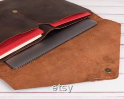 Leather MacBook Pro Air 13 16 inch sleeve , Leather MacBook Envelope cover , Macbook air pro case, Personalized Macbook case