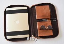 Leather MacBook Pro Sleeve Brown leather MacBook Case Leather Computer Case Laptop Sleeve 13 inch Leather Laptop Case 13 inch