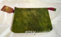 Leather laptop tablet cover