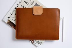 MacBook Pro 13 leather sleeve MacBook Air 13 leather sleeve Slim MacBook Pro sleeve MacBook leather case MacBook leather cover Personalised