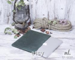 Macbook Sleeve Leather Asus Sleeve HP Sleeve Dell Sleeve Personalized Acer Sleeve Laptop Sleeve 17 inch 15 inch 14 inch 13 inch Laptop Cover