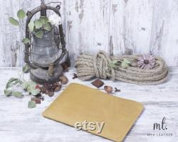Modern Yellow Macbook Sleeve with Personalization Leather Laptop Cover Macbook 15 inch Monogrammed Mac Pro 13 in Sleeve 2018-2020 Covers