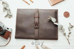PERSONALIZED Leather MacBook Sleeve ALL SIZES Laptop case, Macbook sleeve, Macbook pro 13 case, Macbook air 13 case, Leather laptop sleeve