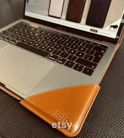 Personalized Leather Case for MacBook Pro and Air 13 Inch, MacBook Air Case, MacBook Pro Case, Macbook Case, Macbook M1 Case 13 Inch