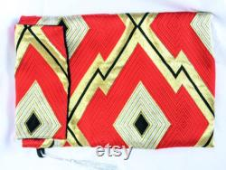 Red Gold Tablet Sleeve