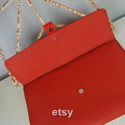 Red Leather Retina 13 Macbook Air Case Can be Personalised