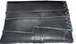 This Laptop Sleeve is Genuine Leather, Hand Stitched, Sustainable, Cool, Sexy, Protective, and can fit 13 air, tablets, notebooks or other
