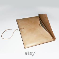 Vegetable tanned leather 13.3-inch Macbook laptop case