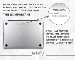 Women Macbook Pro Sleeve Leather Laptop Mac Cover Engraved Macbook Air Sleeve Pro 13 Pro 15 Case Macbook 16 2020 Case Leather Envelope Case