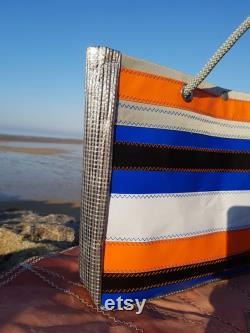 Zodiac and recycled sail bag