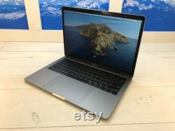used Apple MacBook Pro Touch Bar 2019 13 Laptop 256GB SSD 8GB RAM Space Gray